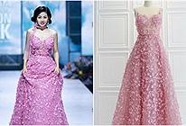 Chiếc váy Mai Phương mặc trong lần catwalk cuối cùng đã được trả giá 110 triệu để đóng góp vào quỹ nuôi bé Lavie