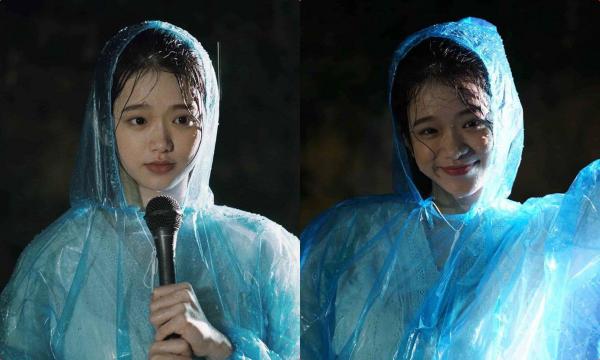 Cầm mic tác nghiệp giữa trời mưa, Linh Ka khiến anti-fan cứng họng: Linh Ka ngày xưa đâu mất rồi!