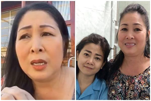 """NSND Hồng Vân tiết lộ chuyện lạ sau khi Mai Phương vừa qua đời: """"Phương cứ khóc mãi, nhưng không vào được nhà"""""""