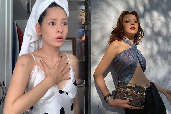 Hoá ra Chi Pu cũng là dạng con gái: Ở nhà quần đùi áo cộc luộm thuộm, ra đường là lên đồ như ai