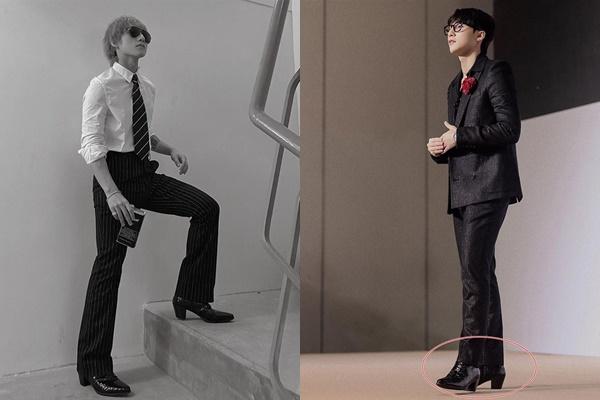 Đời chẳng thiếu gì, thiếu mỗi chiều cao, Sơn Tùng chẳng ngại diện cả quần ống loe, đi giày cao gót