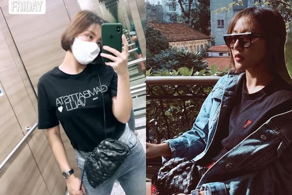 Xách túi một nhúm như làn đi chợ, Văn Mai Hương khiến fans ngã ngửa về giá trị thật