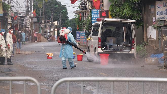 Hà Nội cách ly thôn Hạ Lôi do liên quan bệnh nhân 243