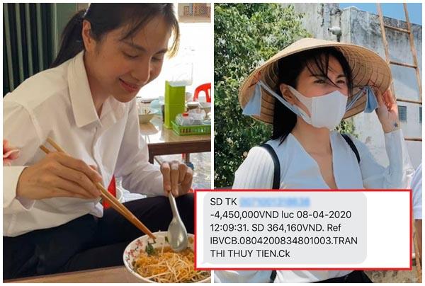 """Sau 18 năm, Thủy Tiên lần đầu công khai số tài khoản thú nhận: """"Hậu quả của việc làm từ thiện lố tay"""""""