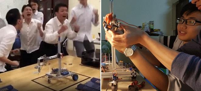Sinh viên Bách khoa mới thấu hiểu: Hoàn thành robot trong 6 ngày để kết thúc môn hạnh phúc thế này đây!