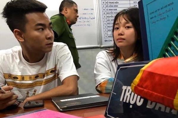 """Nghi vấn: Lộ hình ảnh Linh Ngọc Đàm và Quang Cuốn bị """"bế"""" lên phường"""