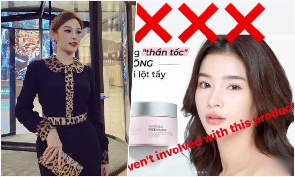 Huyền Baby bị nữ diễn viên Thái Lan tố thẳng mặt dùng hình ảnh chưa xin phép để quảng cáo cho thương hiệu mỹ phẩm của mình