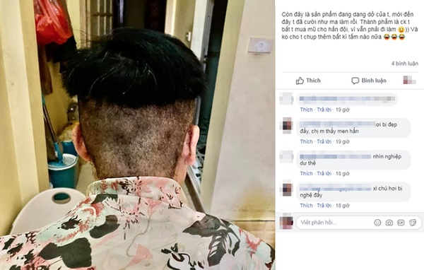 """Nhờ vợ cắt tóc mùa dịch, nhiều anh chồng """"khóc thét"""" khi thấy thành quả: Coi như có thêm lý do để tự cách ly ở nhà"""