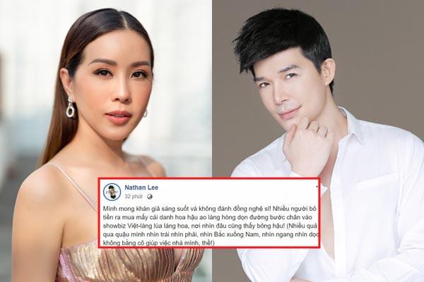 Biến căng: Nathan Lee tuyên chiến với người đẹp, chê Hoa hậu từ Nam - Bắc không bằng cô giúp việc