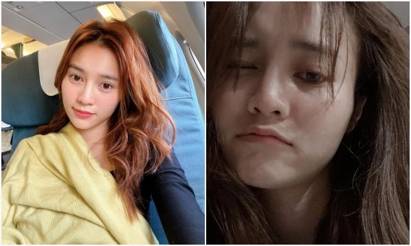 Khoe ảnh mặt mộc đầu tóc rối bù, Ninh Dương Lan Ngọc khiến netizen phát choáng nhan sắc tuổi 30