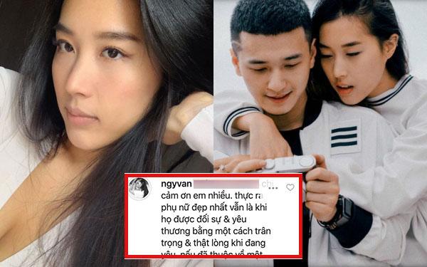 Bạn gái cũ Huỳnh Anh phản ứng, ngầm trách nam diễn viên không thật lòng khi yêu mình?