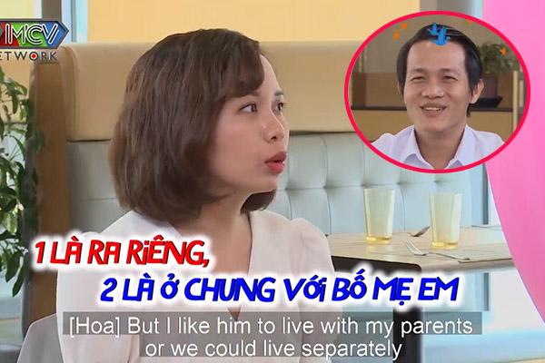 """31 tuổi vẫn giữ quan điểm không làm dâu, nữ chính khiến MC Cát Tường bức xúc: """"99 người đàn ông sẽ không chọn em"""""""