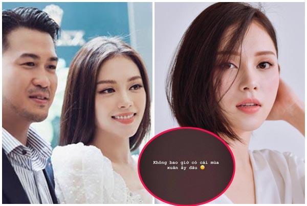 """Vừa bị đồn quay lại, Linh Rin đăng lời cạn tình với thiếu gia Phillip Nguyễn: """"Không có cái mùa xuân ấy đâu"""""""