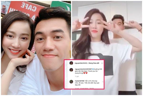 """Cặp đôi """"yêu nhanh tan sớm nhất showbiz"""": Tiến Linh phũ phàng xóa ảnh bạn gái, Hồng Loan bị đá?"""