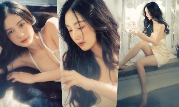 """""""Cô bé trà sữa Việt"""" từng làm dậy sóng truyền thông Thái Lan tung bộ ảnh ngọt ngào mà đẹp """"nghẹt thở"""""""