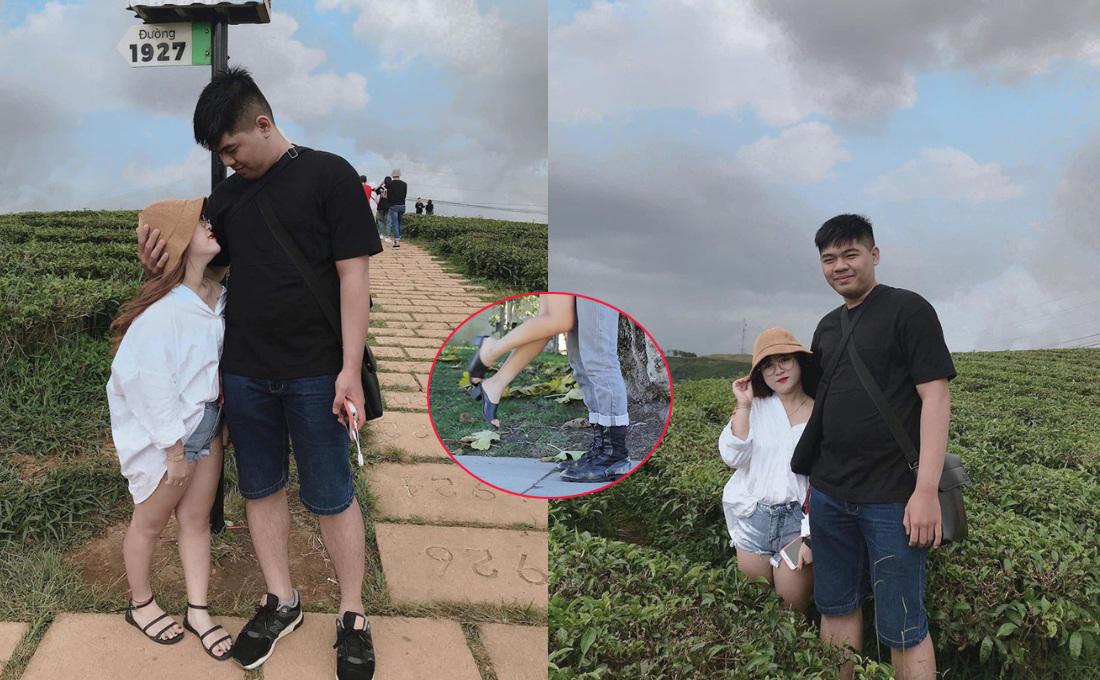 """Chuyện tình """"đũa lệch"""" của chàng 1,84 m và nàng 1,48 m tại Đồng Nai: """"Mỗi khi chạm môi là cả một thử thách"""""""