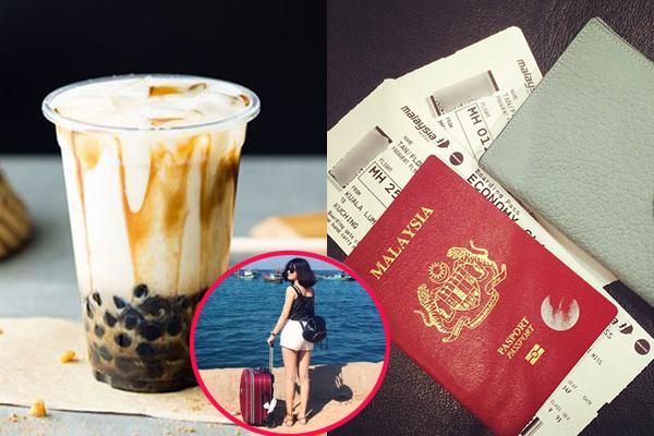 Bỏ trà sữa trong 4 tháng, cô gái góp đủ tiền đi du lịch nước ngoài
