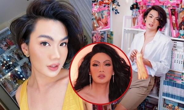 Đào Bá Lộc bắt đầu nuôi tóc dài, ngoại hình ngày càng nữ tính hơn cả Lynk Lee