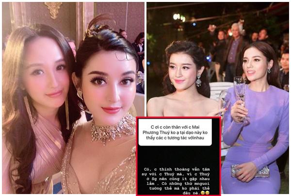 Á hậu Huyền My nói về Hoa hậu Kỳ Duyên và lý do vì sao không thường xuyên thân thiết với Mai Phương Thúy