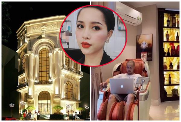 Cận cảnh bên trong toà lâu đài 2 mặt tiền của Bảo Thy và Trang Pilla: Như trung tâm thương mại lớn