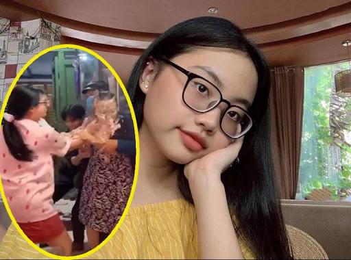 Phương Mỹ Chi gây tranh cãi vì đùa giỡn quá đà, bôi bánh kem đầy mặt mẹ ruột, còn quay video tung lên mạng