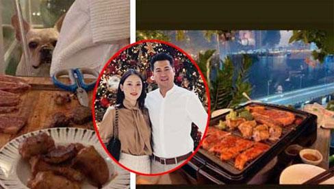 Vừa chia tay Linh Rin, Phillip Nguyễn lộ ảnh đi ăn tối với cô gái lạ mặc áo choàng tắm?
