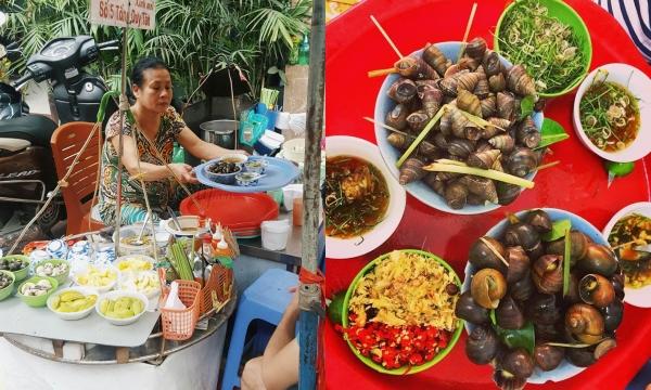 """""""Xuýt xoa"""" với những quán ốc luộc ngon nhất nhì Hà Nội, rất được lòng tín đồ ăn uống"""