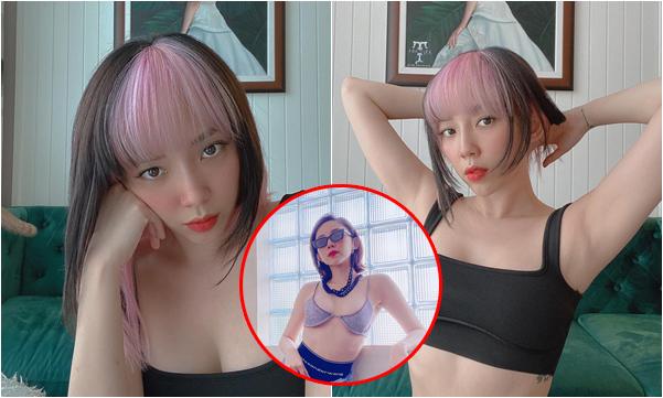 """Tóc Tiên bất ngờ đổi kiểu tóc đúng style """"Black Pink"""": Gái có chồng nhưng vẫn """"yolo"""" như thường"""