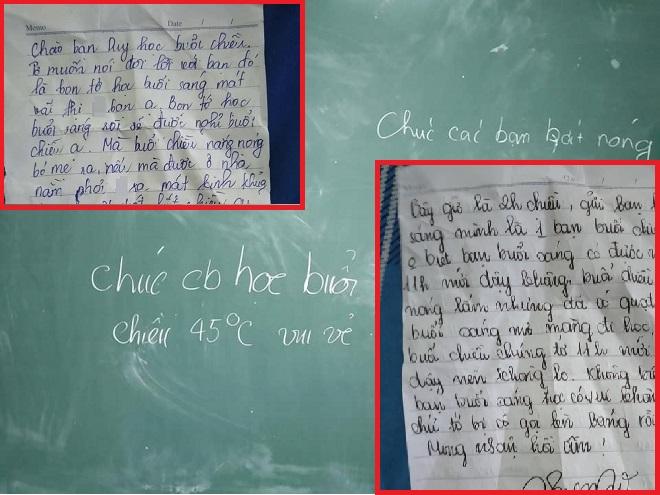 """Được học ca sáng mát mẻ, học sinh viết """"tâm thư cà khịa"""" nhóm học ca chiều tạo nên màn đối đáp gây cười ngả nghiêng"""