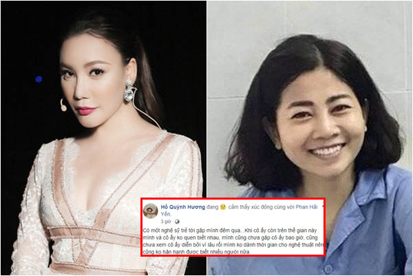 """Ca sĩ Hồ Quỳnh Hương gây tranh cãi vì tiết lộ """"mơ"""" thấy nghệ sĩ trẻ về báo mộng giống Mai Phương"""