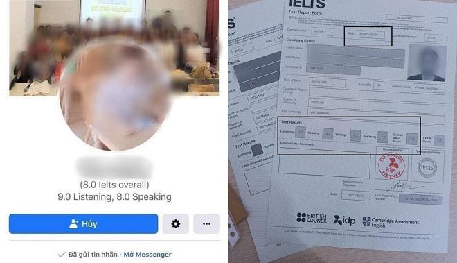Nam giáo viên IELTS nổi tiếng của một diễn đàn lớn bị tố khai khống điểm lên tận 9.0