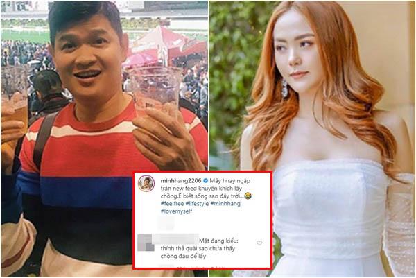 Đăng status than vãn về hôn nhân, Minh Hằng bị đồn đoán chia tay bạn trai đại gia sau 3 năm yêu nhau!