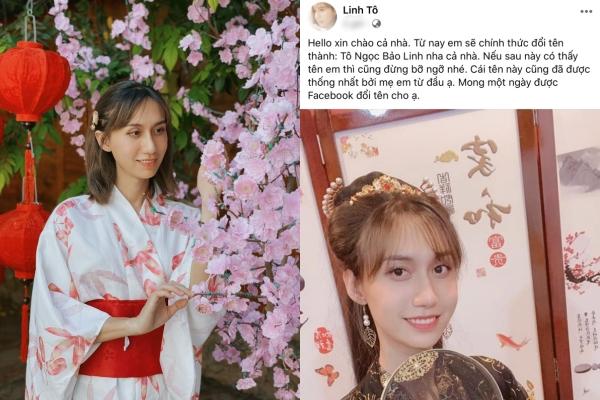 Chính thức đổi tên Tô Ngọc Bảo Linh, Lynk Lee tự tin khoe bộ ảnh chụp vội lộ rõ khuyết điểm