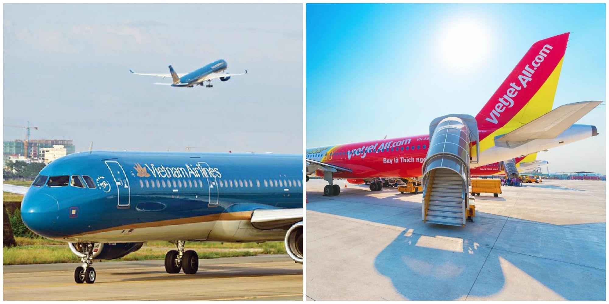 """HOT: Các hãng Hàng không Việt mở lại loạt đường bay nội địa, tung thêm nhiều ưu đãi cực """"hời"""" cho khách bay"""