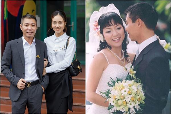 Bạn gái trẻ bất ngờ nhắc tên vợ cũ Công Lý - MC Thảo Vân khi đang sánh vai mừng anh lên chức Phó Giám đốc Nhà hát