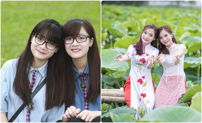 Cặp chị em song sinh xứ Nghệ xinh xắn với thành tích học tập khủng gây sốt năm xưa giờ ra sao?