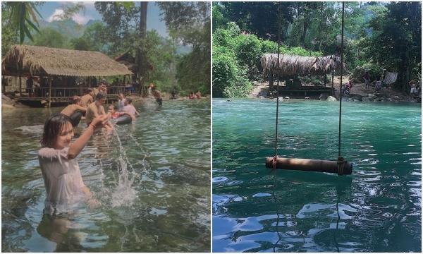 """Cuối tuần lập team """"chạy trốn nắng hè"""" băng rừng, tắm thác cực chill ngay sát Hà Nội"""