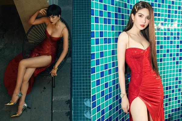 """Cắt tóc ngắn, Hoa hậu Tiểu Vy tự tin đụng hàng cả Ngọc Trinh mà chẳng sợ """"lép"""" vế"""