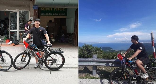 Chàng trai Hàn Quốc đạp xe xuyên Việt, trên đường được vô số người tốt giúp đỡ