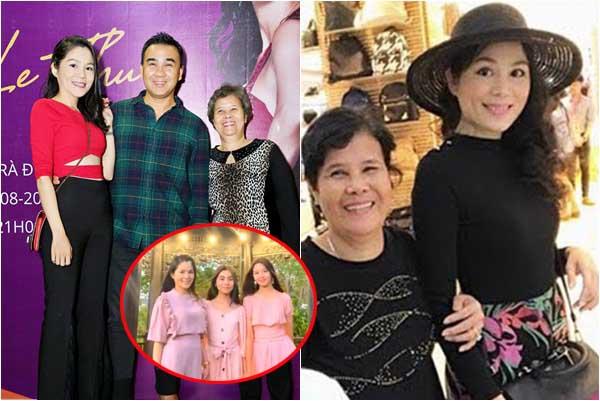 Chuyện về người vợ xinh đẹp đại gia của MC Quyền Linh quỳ gối tháo dép cho mẹ chồng