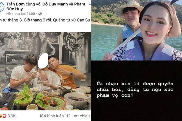 """Vừa cưới hơn 3 tháng, Quỳnh Anh bỗng đăng story khó hiểu """"Nhậu xỉn là được quyền chửi bới, xúc phạm vợ con?"""""""