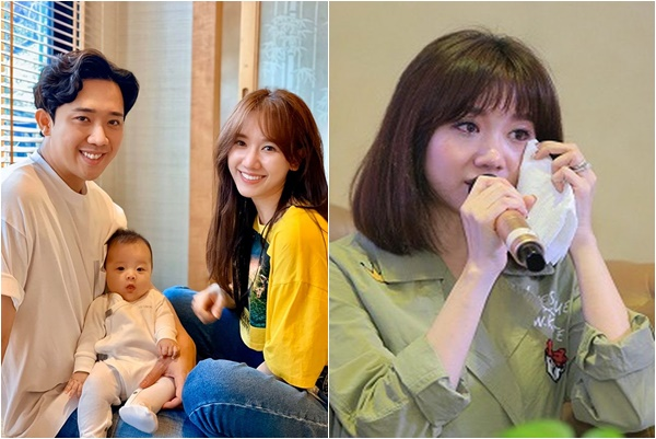 """Trấn Thành """"thả thính"""" nhẹ chuyện có con sau khi Hari Won tiết lộ chữa trị bệnh ung thư cổ tử cung"""