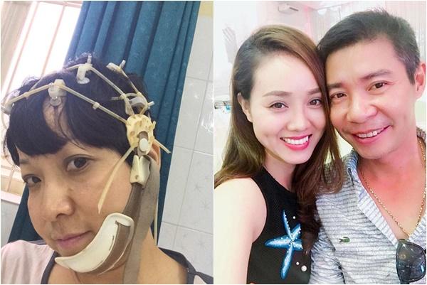 Hậu ly hôn, MC Thảo Vân lao đao với bệnh tật, Công Lý hạnh phúc bên tình trẻ