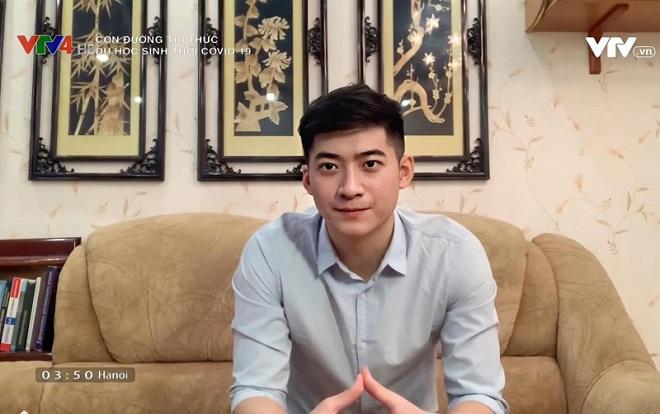 Nam du học sinh Việt tại Nga gây sốt khi xuất hiện trên sóng truyền hình: Trai đẹp học ngành y, hết lòng góp sức chống dịch