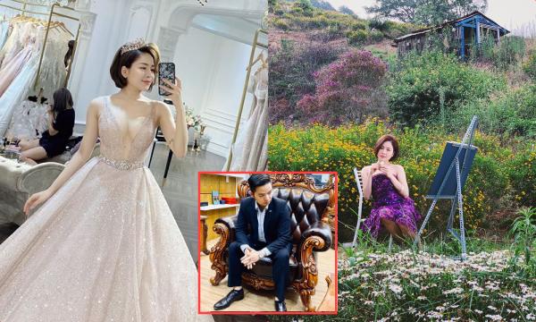 Sau chuyến đi Đà Lạt với đại gia, hot girl Trâm Anh bất ngờ khoe ảnh mặc váy cưới, sắp lên xe hoa chăng?
