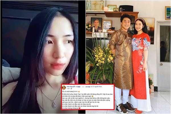 """Bạn trai đại gia Hòa Minzy """"vui mồm"""" tiết lộ cả hai đang sống chung nhà, ngủ chung giường"""