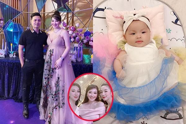 """""""Cô dâu 200 cây vàng"""" khoe party hoành tráng của con gái nhưng dân mạng lại chỉ để ý đến nhan sắc của bà mẹ trẻ"""