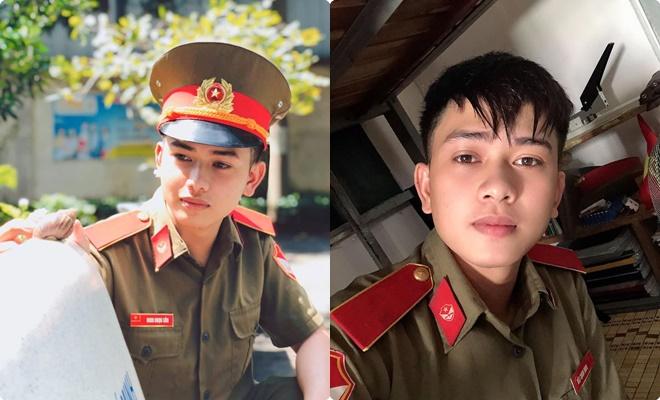 Thầy giáo thực tập điển trai trong bộ quân phục: Mơ làm công an không được nên ước trở thành thầy giáo