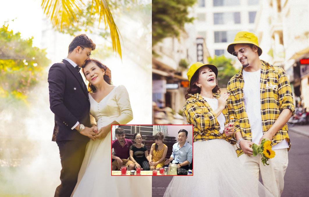 Sau màn hội ngộ cô dâu 62 tuổi, cô dâu 65 tuổi bất ngờ tung bộ ảnh cưới hạnh phúc bên chồng ngoại quốc 24 tuổi