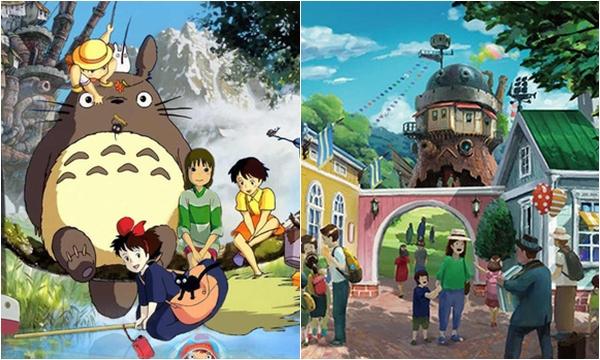"""Nhật Bản sắp ra mắt công viên chủ đề Ghibli mang cả thế giới hoạt hình ra ngoài đời thật, nhìn ảnh """"nhá hàng"""" mà dân mạng phải điêu đứng"""